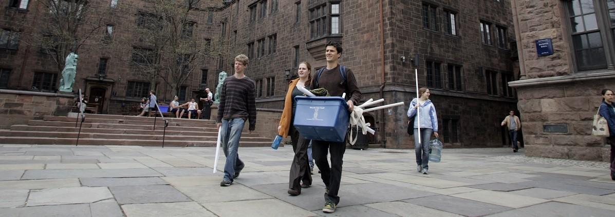 students, university, Yale