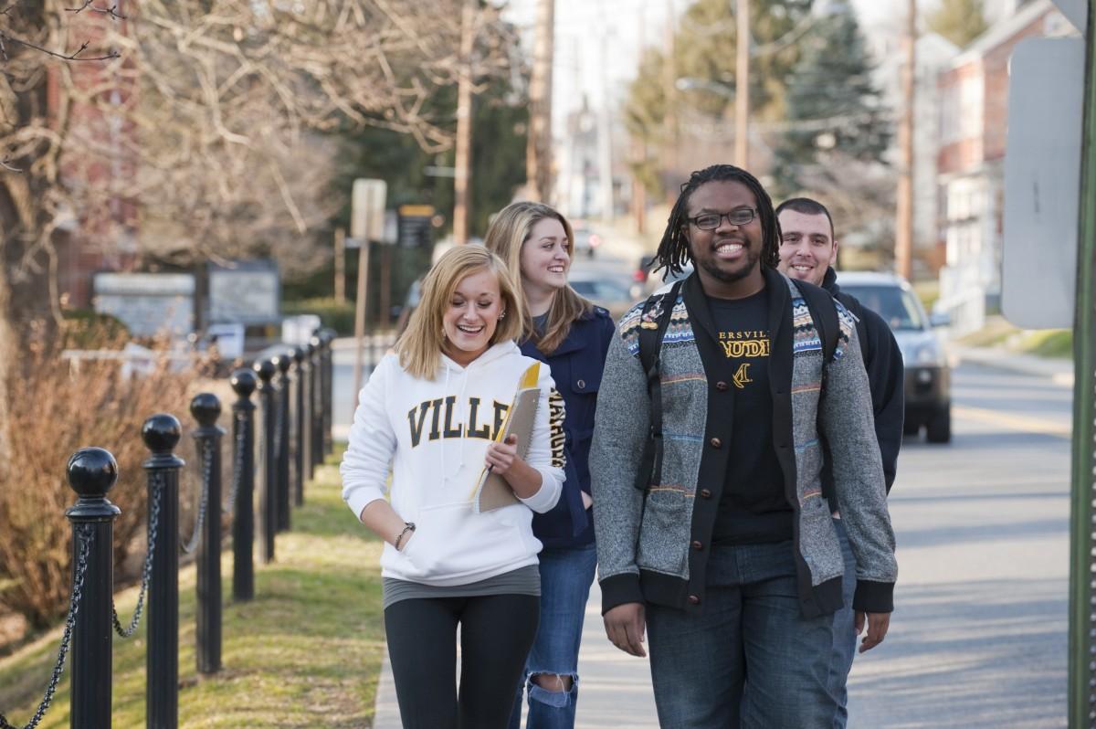 Millersville University students