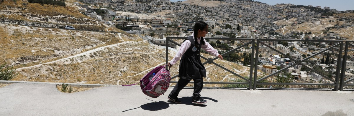 'Carrot, not stick': Israel pushes its curriculum in Palestinian schools