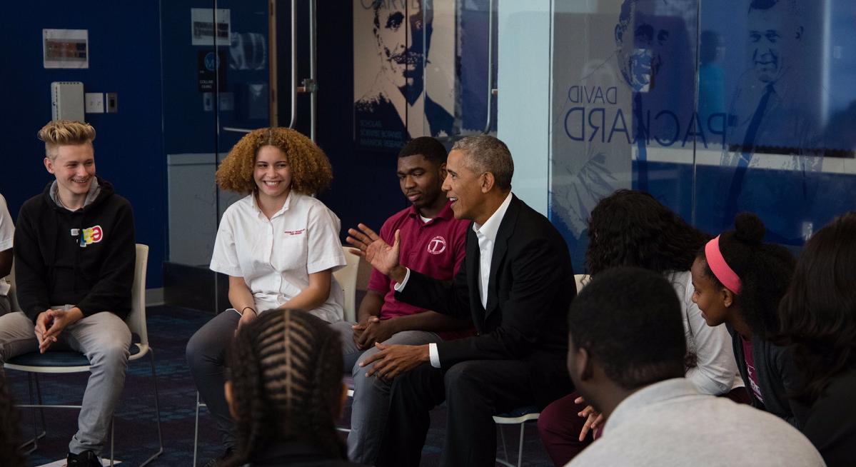 Barack Obama high school