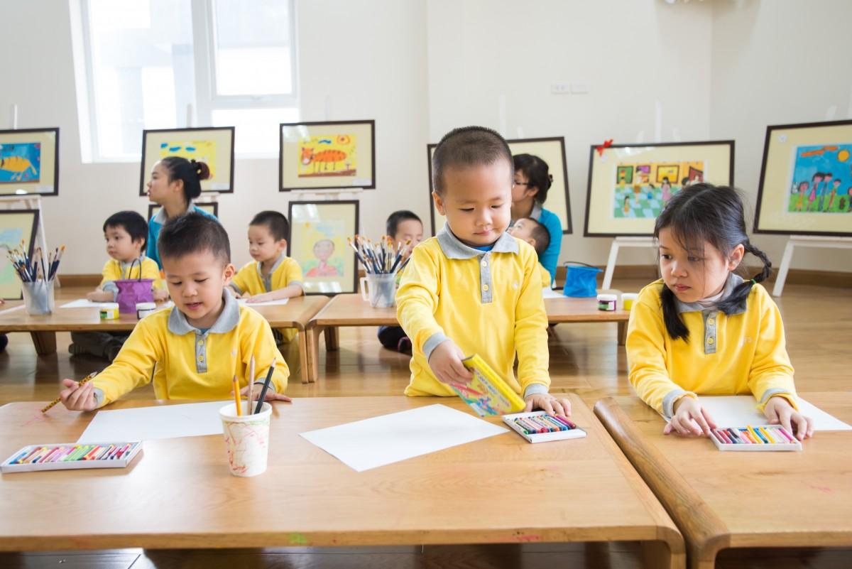 K-12 Vietnam children