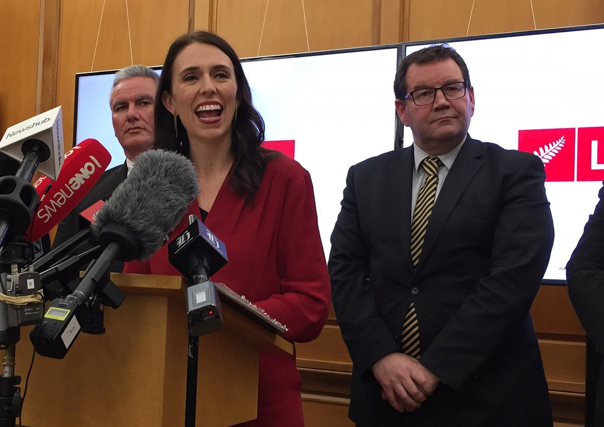 Jacinda Ardern became NZ PM on Oct 25, 2017. Source: Reuters.