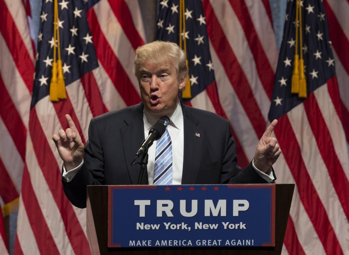 President Trump. Source: Shutterstock.