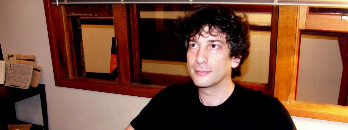 Neil Gaiman, reading