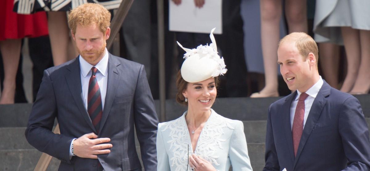 Prince William, Prince Harry, Kate Middleton