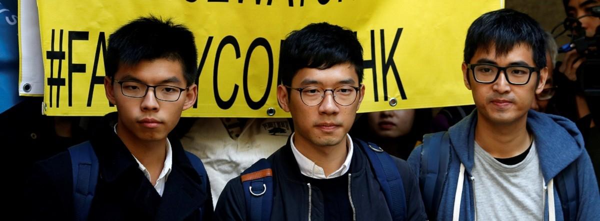 Hong Kong, pro-democracy, Joshua Wong
