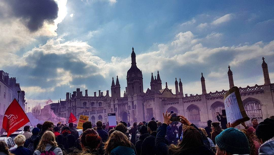 5 types of students during the UK university strike