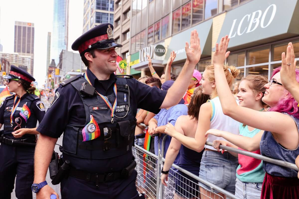 The police aren't to be feared in Canada, Source: Shawn Goldberg/Shutterstock.