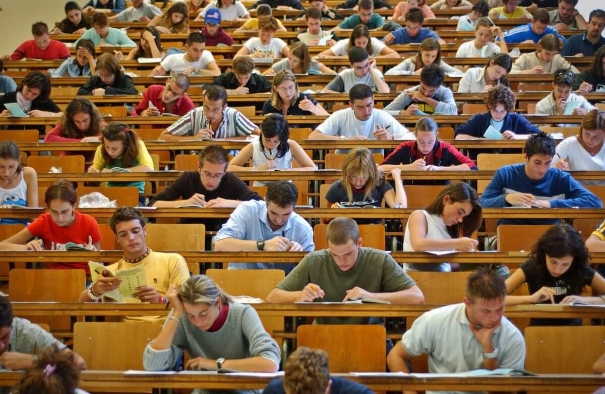 university exam