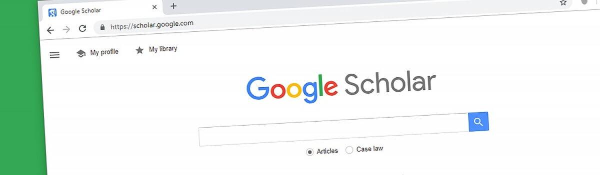 Google Scholar search tips