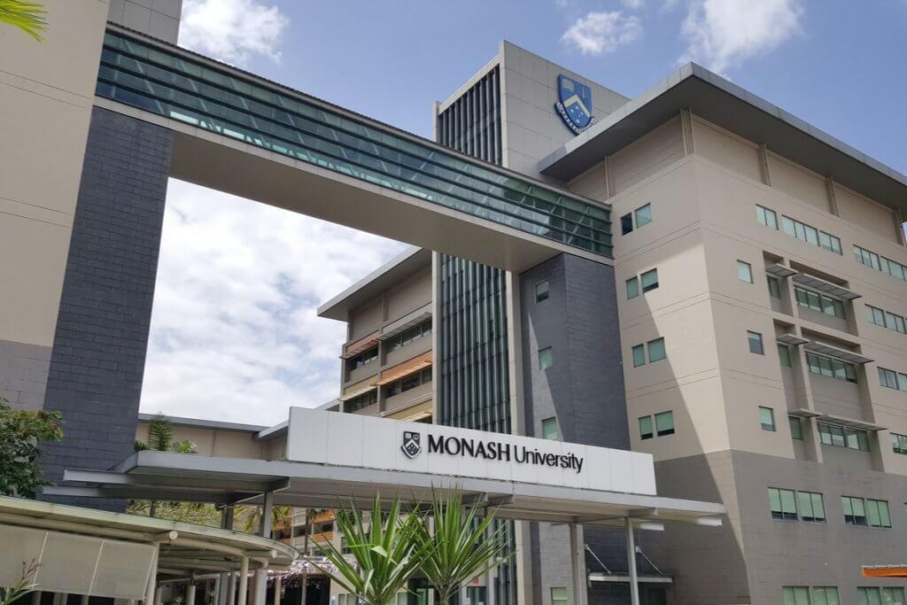 Monash University campus