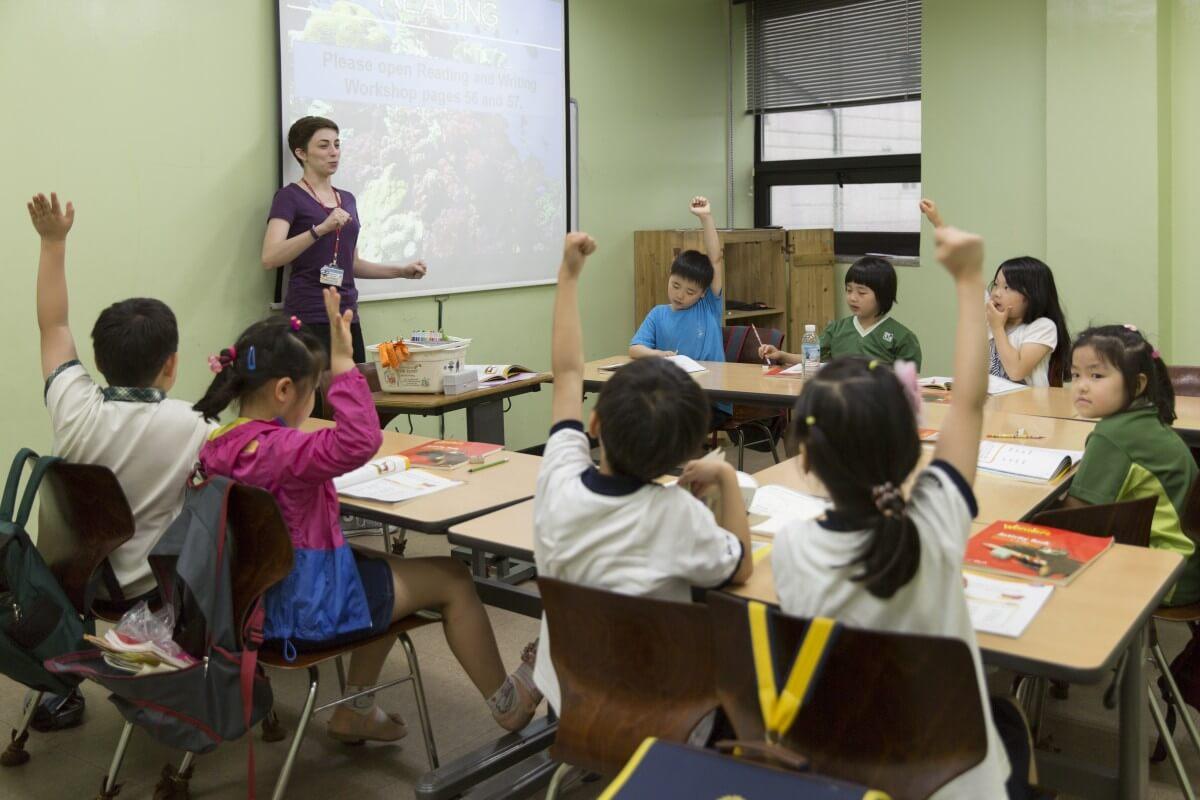 schools in South Korea