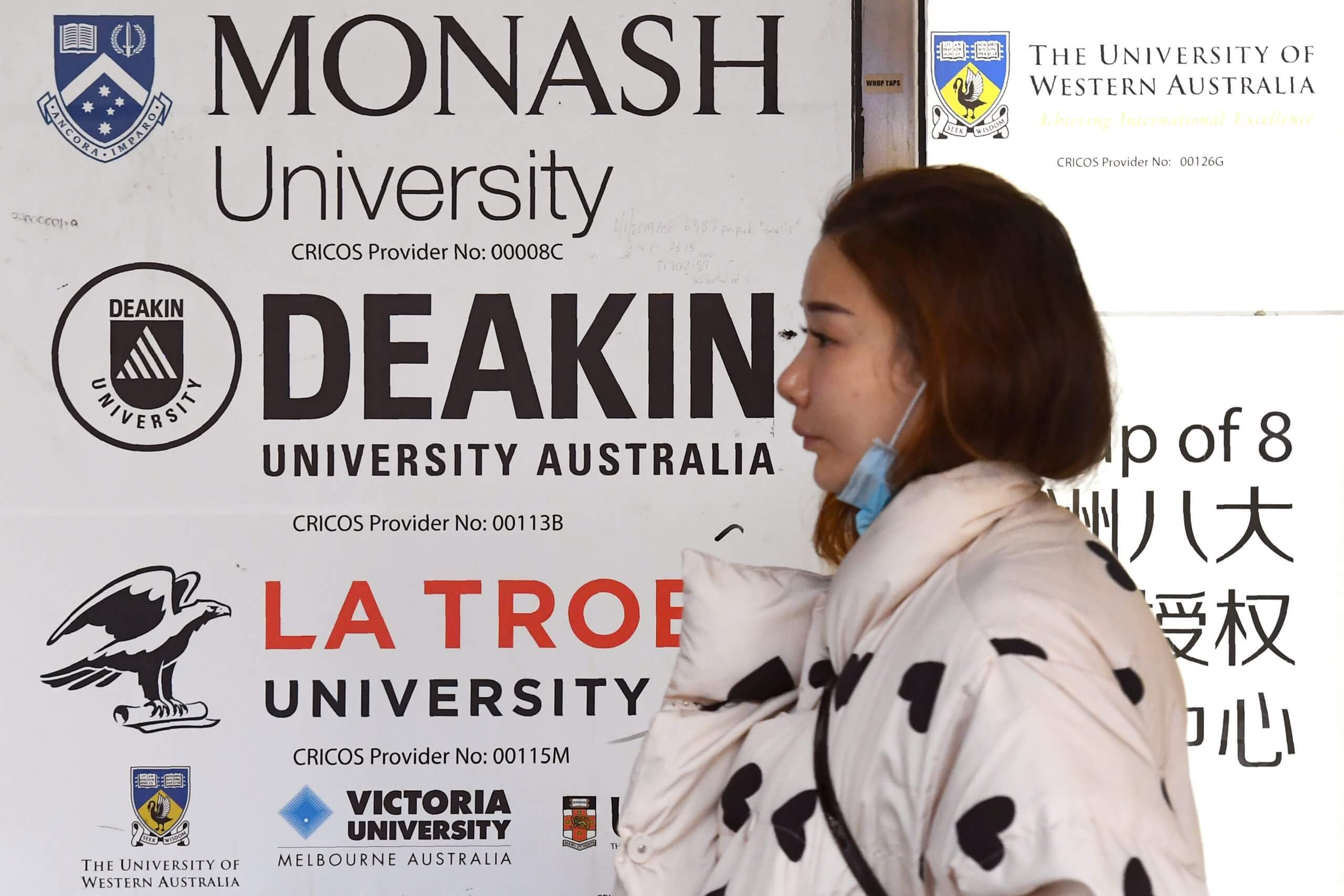 chinese students in australia