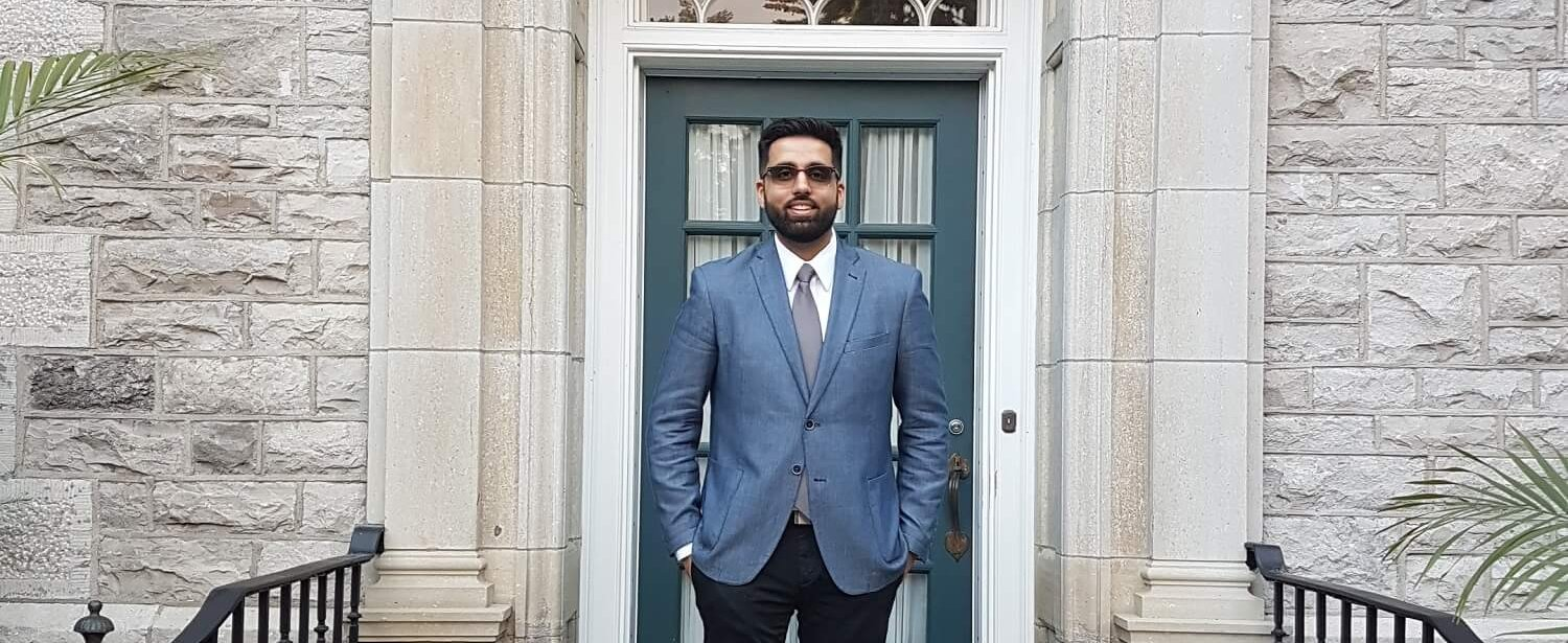 From Canada to the UK, this law graduate is using his law degree for the greater good