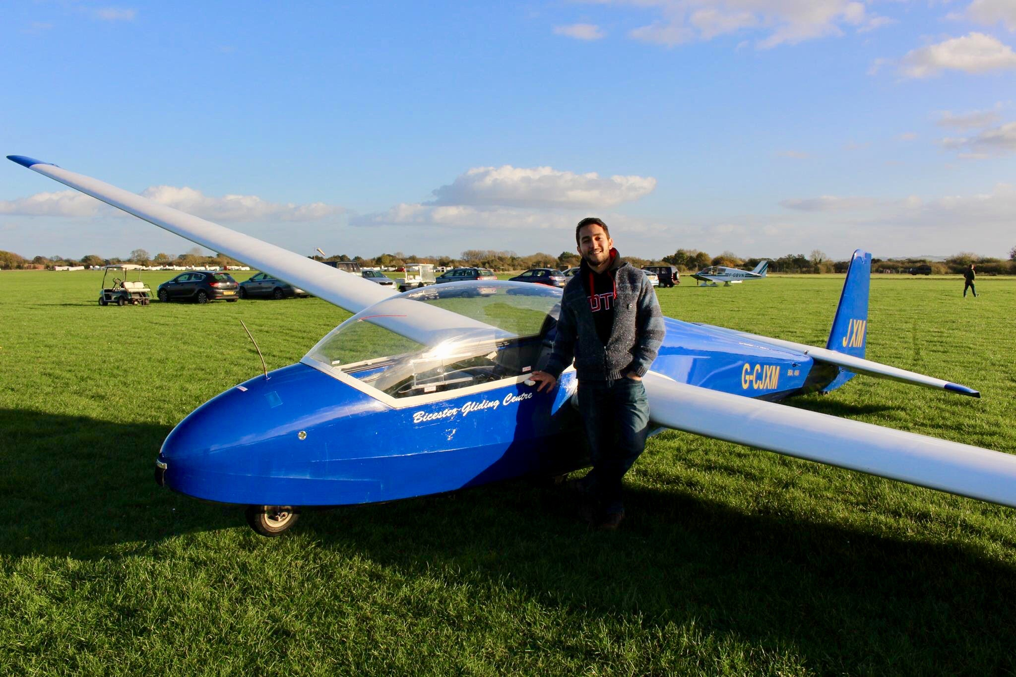 'Gliding' is this Turkish scholar's favourite pastime at the University of Oxford