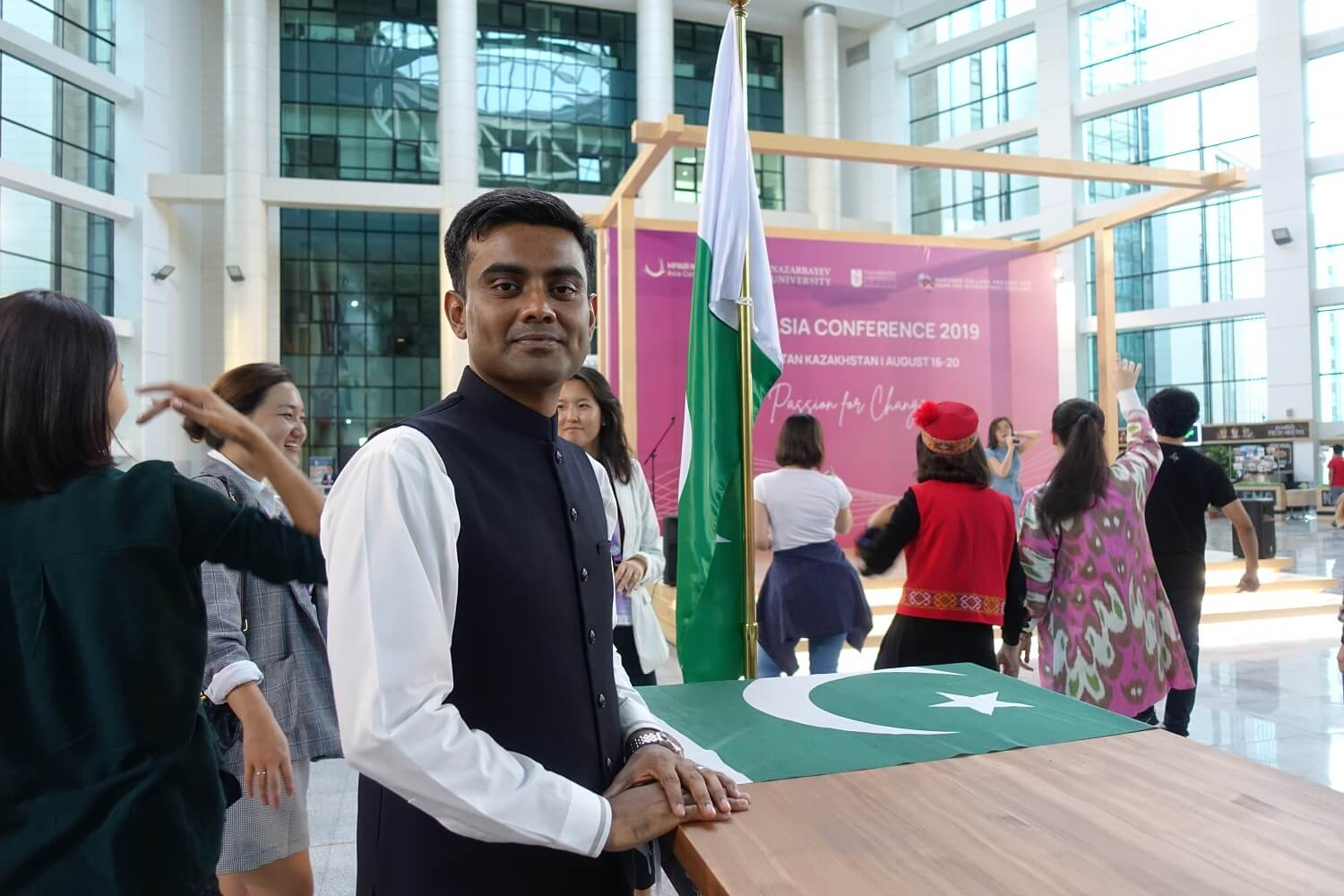 'Bigger picture': Why this Pakistani chose to study political science in Kazakhstan