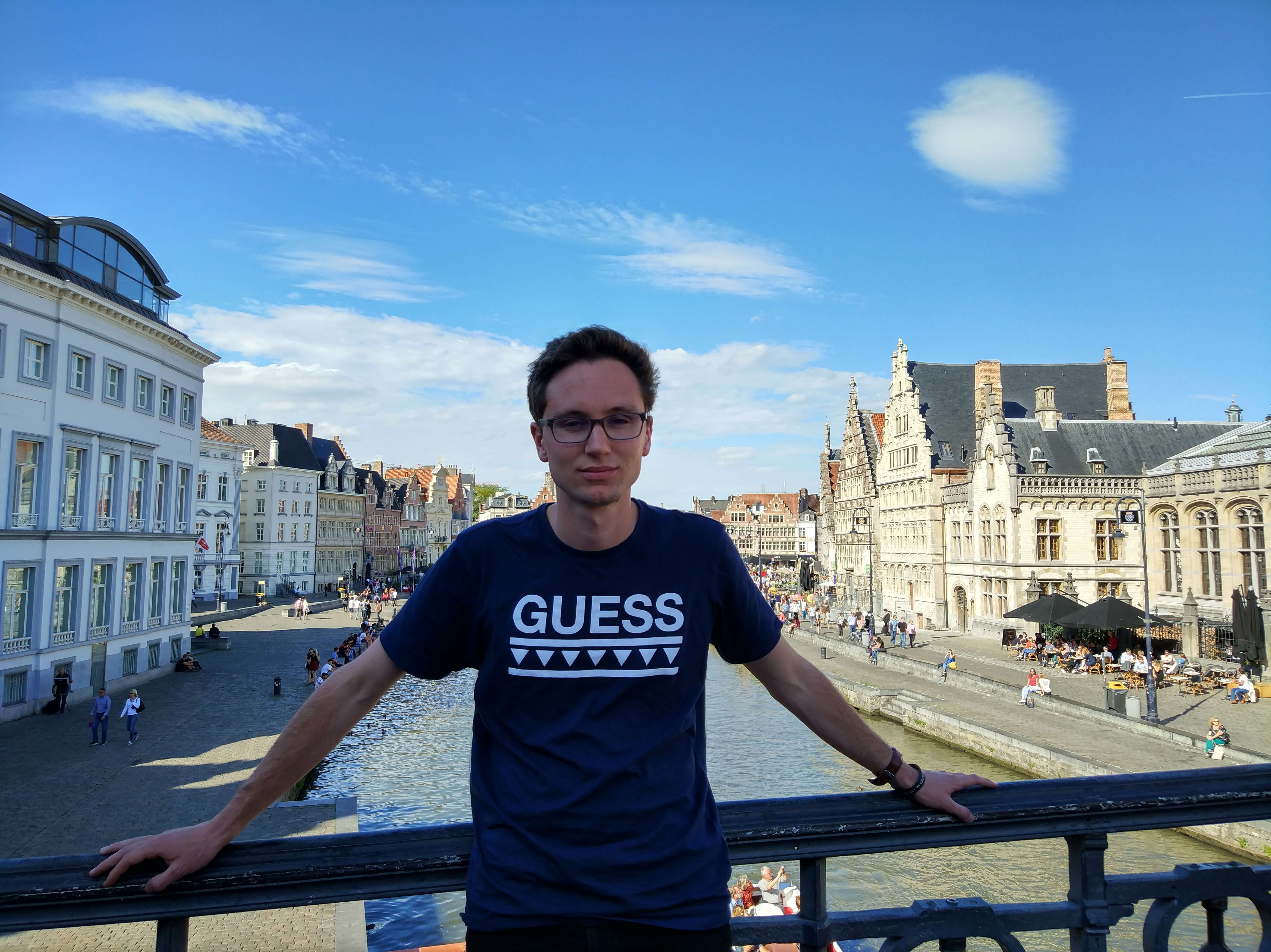 Why this entrepreneur chose to pursue a master's degree in Belgium