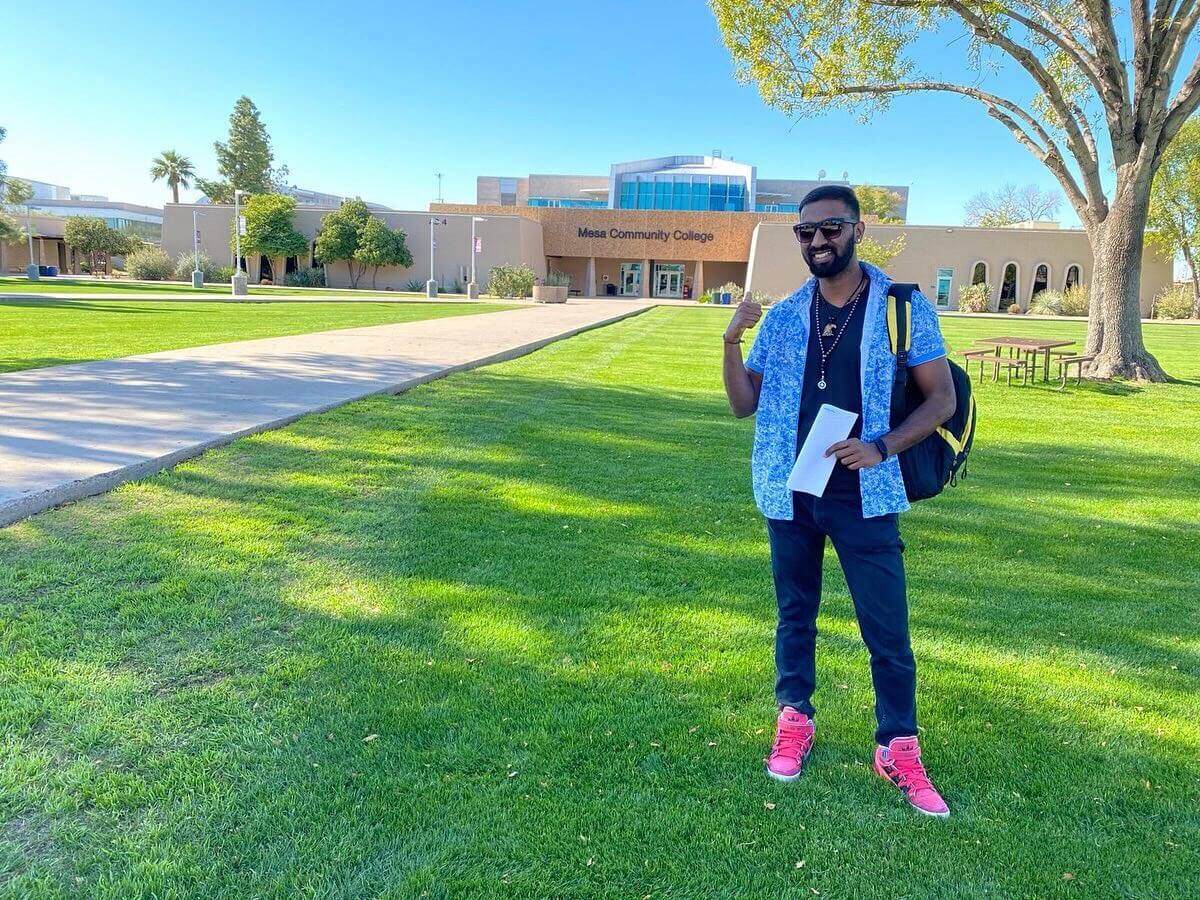 How Mesa Community College became this Indian student's home