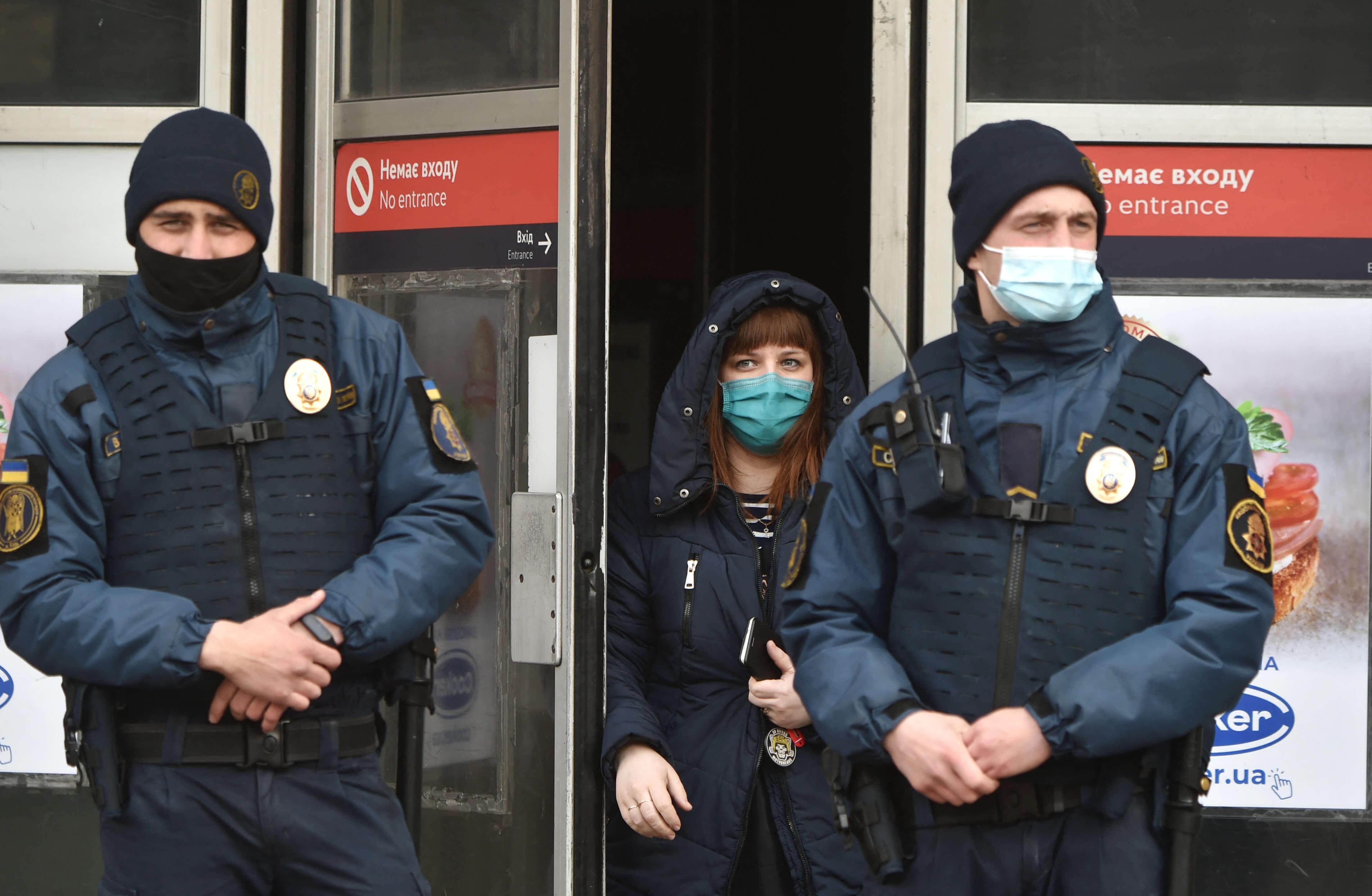 Primary schools close as Kiev tightens coronavirus restrictions