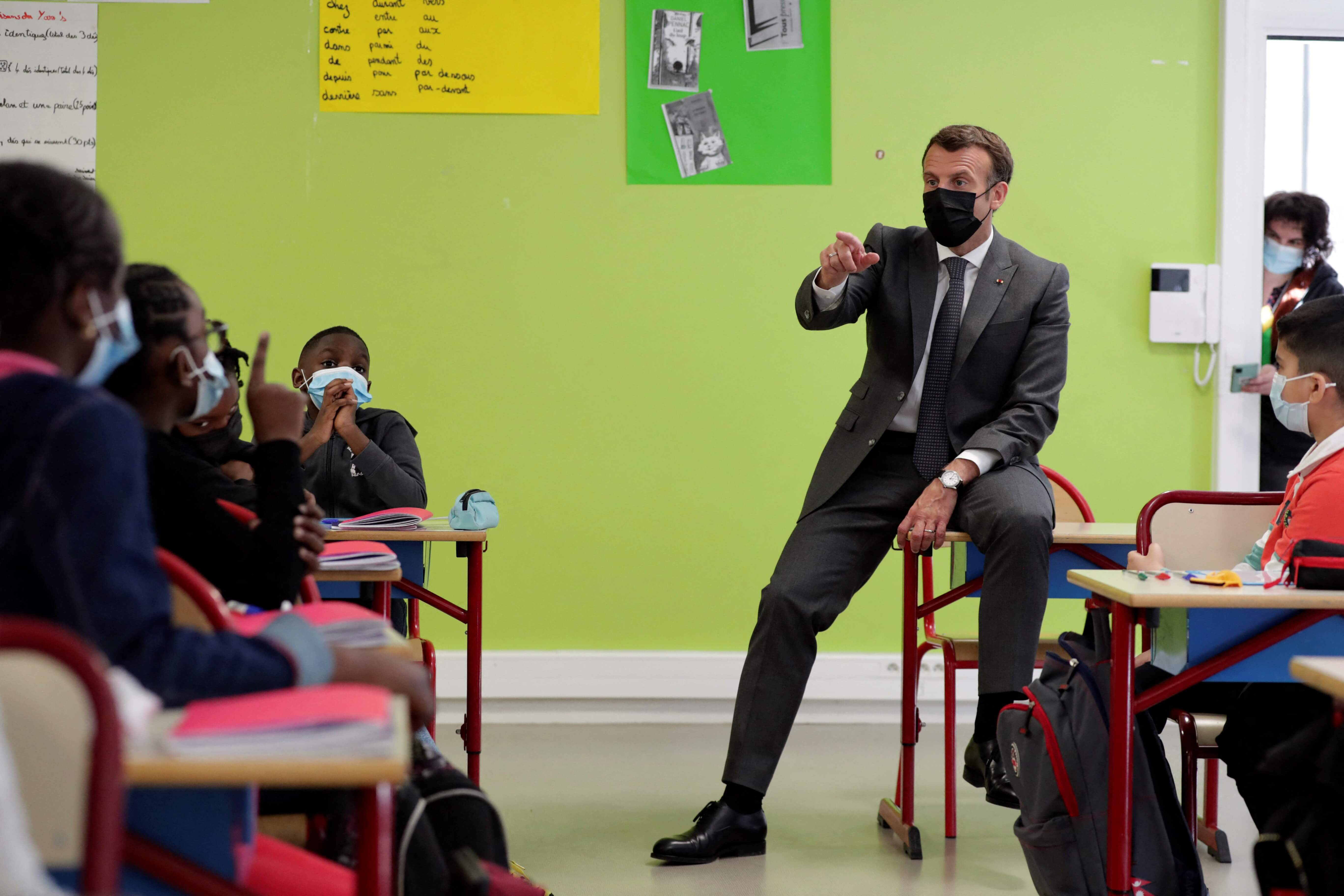 French primary schools reopen as COVID-19 third wave eases