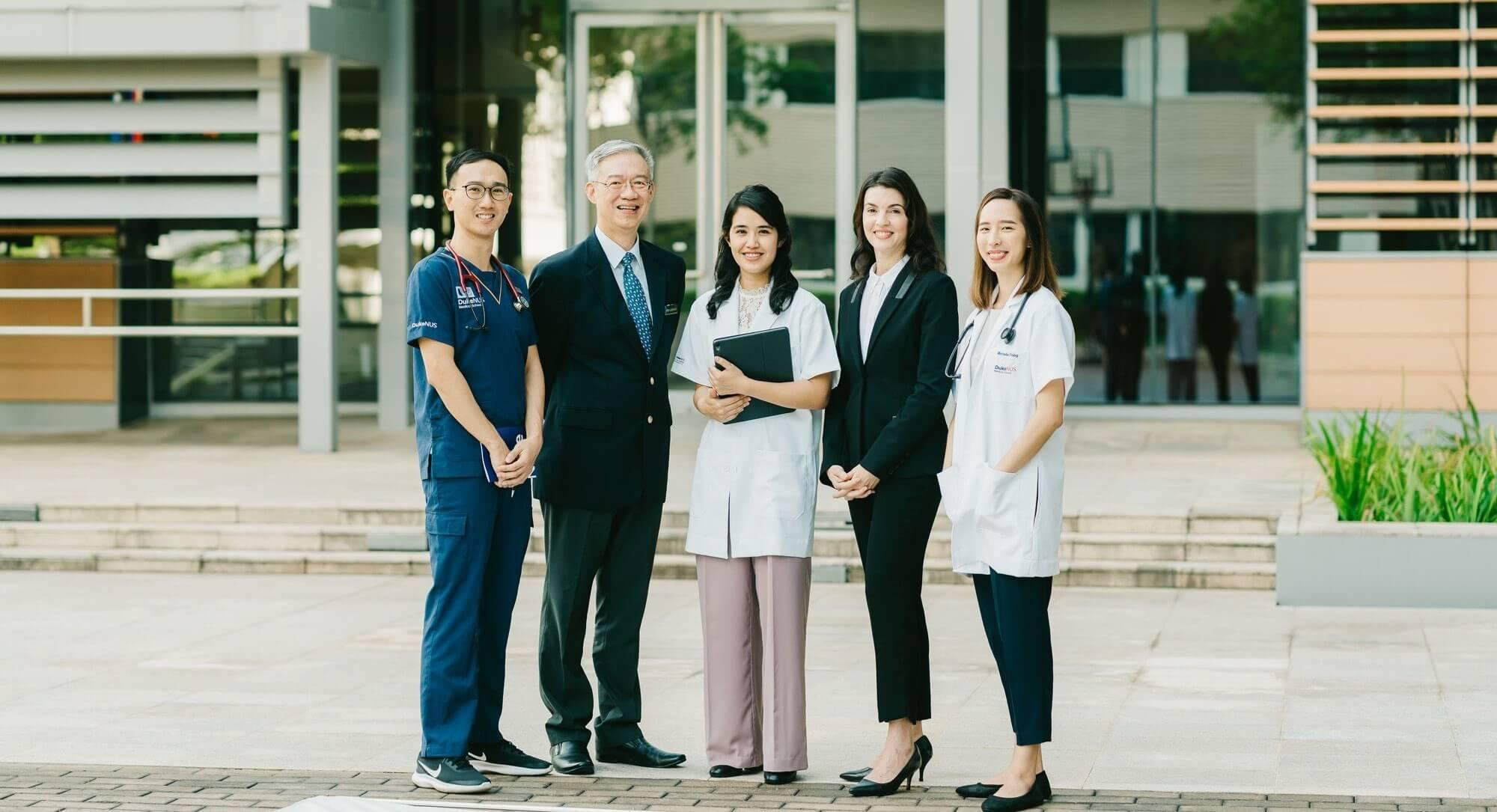 Duke-NUS Medical School: Generous scholarships for tomorrow's changemakers