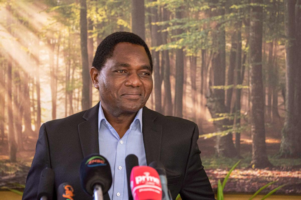 Zambia's president