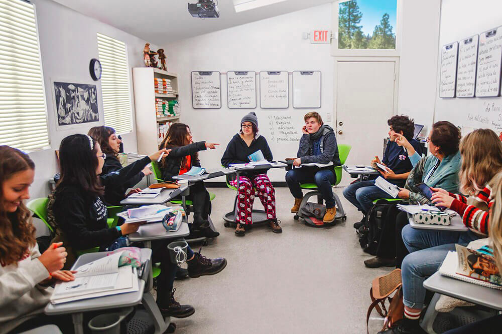 INTERACTIVE CONTENT: A Day in the Life of an Idyllwild Arts Academy student